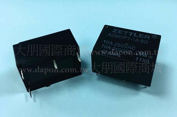 *大朋電子商城*AMERICAN ZETTLER AZ880P1-1A-6D 繼電器Relay(5入)