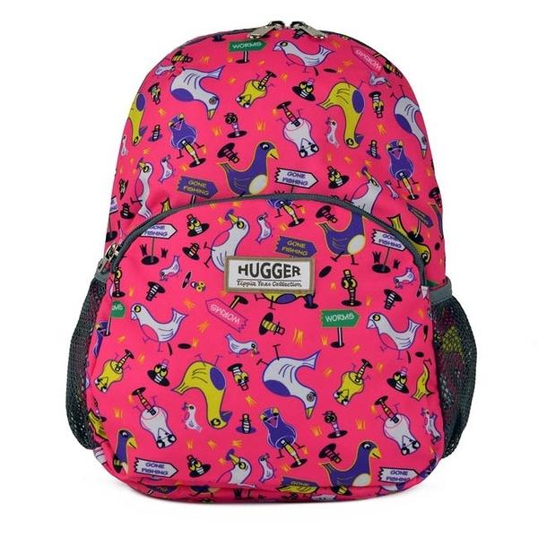 英國 Hugger 時尚孩童背包/兒童背包-歡樂鳥