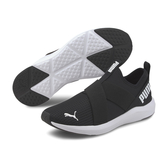 Puma Prowl Slip 運動鞋 女款 黑色 懶人鞋 跑步 休閒 輕量 彈性 繃帶鞋 19307801