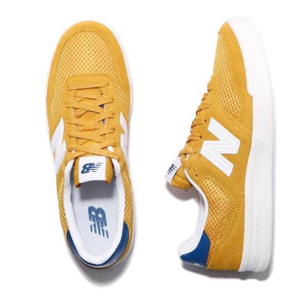 New Balance 休閒鞋 300 NB 黃 白 麂皮鞋面 男鞋 女鞋 運動鞋 【ACS】 CRT300B2D