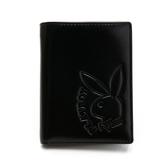 PLAYBOY- 中翻式中夾  rabbithead系列-黑色
