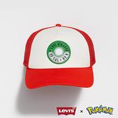 Levis X Pokemon 寶可夢限量聯名 男女同款 小智網帽 / 排釦調節 / 精靈球旗標