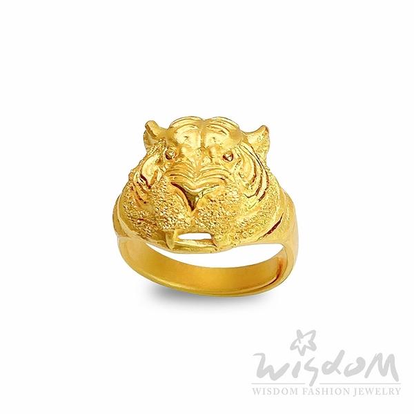 威世登 金虎頭戒指 金重約2.80~2.83錢 GA00435 -AXXX -FIX