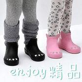 黑五好物節 可愛兒童戶外防水防滑低筒雨鞋男童女童幼兒園軟底膠鞋寶寶雨靴