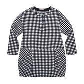 『小鱷魚童裝』氣質格紋洋裝(10號~16號)530304
