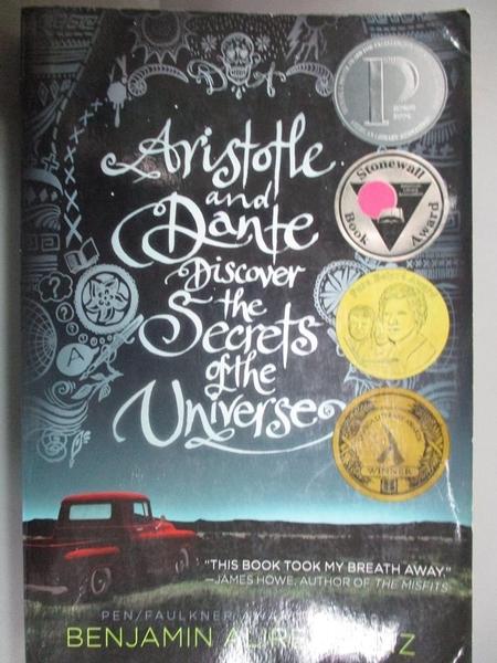 【書寶二手書T3/原文小說_HOC】Aristotle and Dante Discover the Secrets o