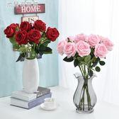 玫瑰花七夕情人節花束套裝家居客廳婚慶裝 米蘭潮鞋館