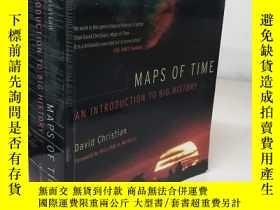 二手書博民逛書店Maps罕見of Time : An Introduction to Big History 【英文原版, 佳】奇