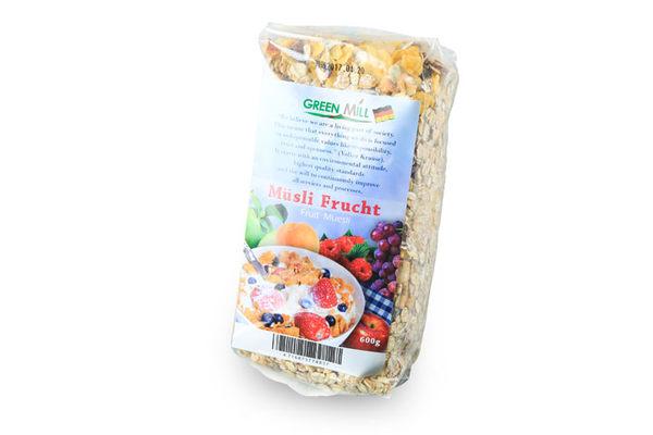 Green Mill 即食水果穀麥片 (自然農法) 600g/袋