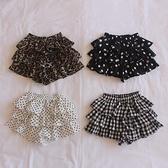 女童短褲 蓬蓬蛋糕裙褲短褲寶寶女童兒童夏裝洋氣公主衣服-Ballet朵朵