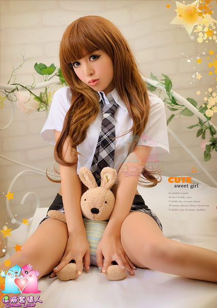 【愛愛雲端】角色扮演 性感內衣 性感睡衣 連身貓裝 護士服 學生 女僕三件式  R8NA12030106