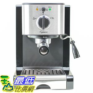 [106美國直購] 咖啡機 Capresso EC100 Pump Espresso & Cappuccino Machine Stainless Steel 116.04