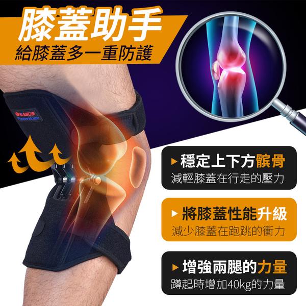 《輔助40KG!減壓保護》膝蓋助力器 膝關節助力器 髕骨助力器 膝蓋助推器 膝蓋支撐 護膝