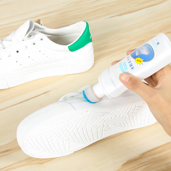 白鞋去汙清潔擦 海綿刷頭 漂白 不沾手 清潔劑 白布鞋 球鞋 帆布鞋 白色 小白鞋【G066-1】MY COLOR
