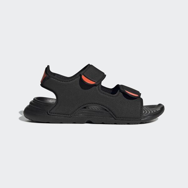 Adidas Swim Sandals C 黑色兒童涼拖鞋 FY8936