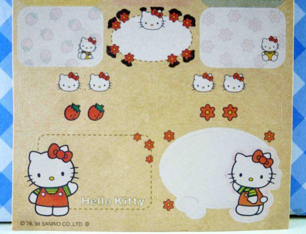 【震撼精品百貨】Hello Kitty 凱蒂貓~KITTY貼紙-復古走路
