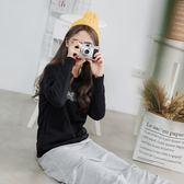 《KG0168》台灣製造.內刷毛字母印圖雙口袋衛衣上衣 OrangeBear