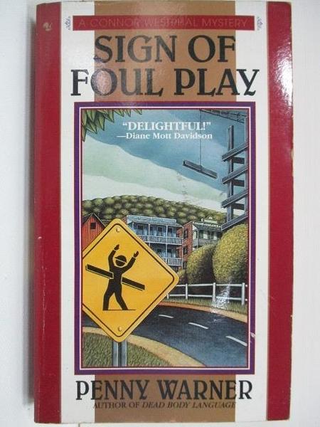【書寶二手書T4/原文小說_A2Y】Sign of Foul Play_Penny Warner