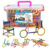 聰明棒積木玩具 兒童益智魔術棒 拼插圖 男孩女孩幼兒園 寶寶智力開發