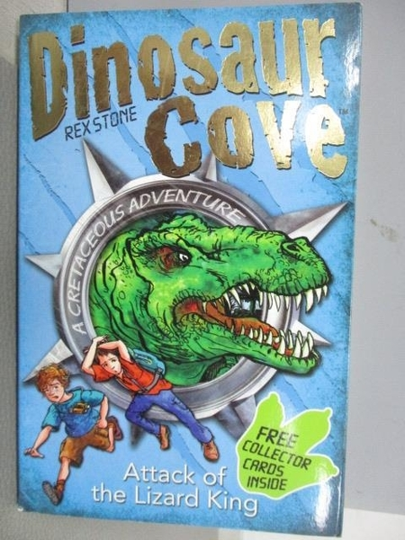 【書寶二手書T1/原文小說_MNB】Dinosaur Cove-Rex Stone-Attack of the Lizard King