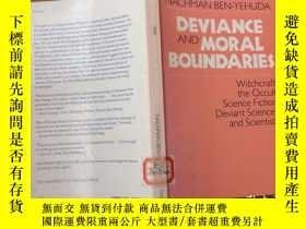 二手書博民逛書店Deviance罕見and moral boundariesY12487 Nachman ben-yehuda