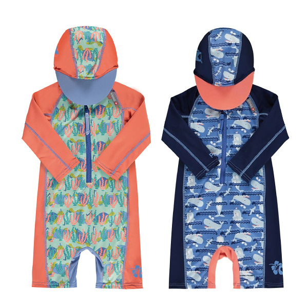 英國 Close Pop-in 嬰兒連帽海灘裝|泳衣 (6款可選)