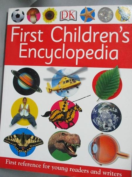 【書寶二手書T1/兒童文學_YEJ】First children s encyclopedia_[editors, Penny Smith ... [et al.]]