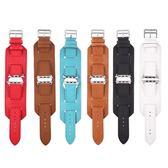 適用Apple watch真皮表帶適用蘋果十字紋皮質手表帶手鐲工廠【韓衣舍】