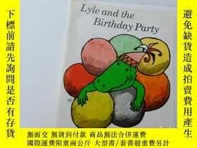 二手書博民逛書店lyle罕見and the birthday partyY124