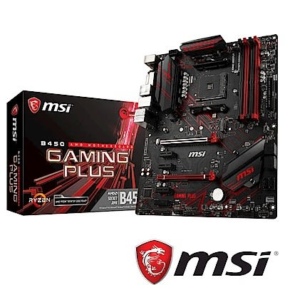 MSI微星 B450 GAMING PLUS 主機板
