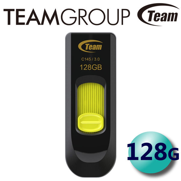 Team 十銓 128G 128GB C145 USB3.0 伸縮式 隨身碟