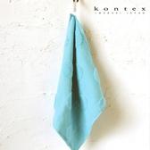 【クロワッサン科羅沙】日本今治~Kontex無撚團圓方巾 33*33cm