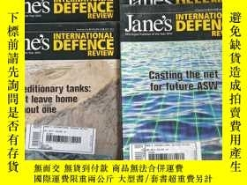 二手書博民逛書店IHS罕見JANE S INTERNATIONAL DEFENCE REVIEW(2011年1、5-8、10月號,
