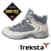Treksta BACK COUNTRY 男 GORE-TEX 防水中筒登山鞋 (輕量 / 護趾 / 加強抓地力) 深藍 KR16LMB 戶外|健行鞋