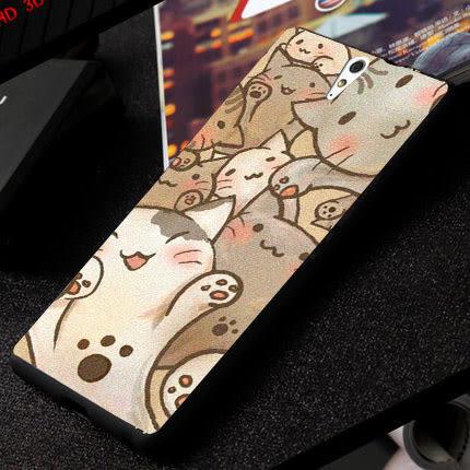 SONY Xperia C5 Ultra E5553 手機殼 軟殼 保護套 迪士尼 Disney 喵喵世界