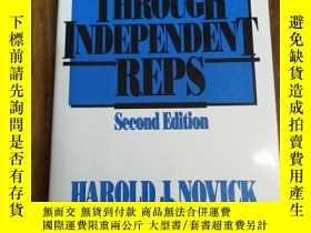 二手書博民逛書店Selling罕見Through Independent RepsY12800 Harold J. Novic