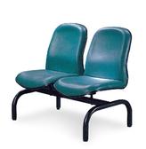 【IS 空間美學】圓管綠皮排椅2 人座三款尺寸可選