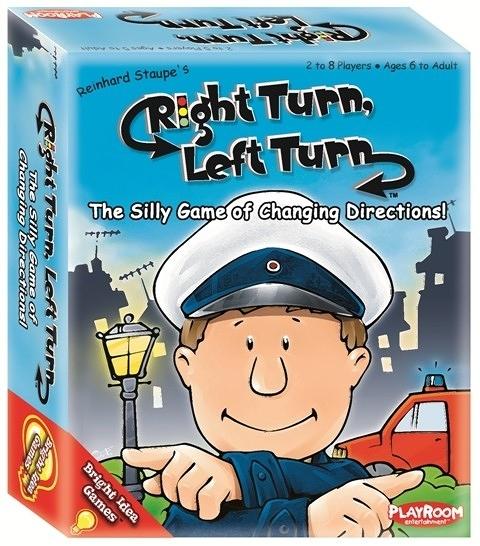 【KANGA GAMES】Right Turn, Left Turn 向左向右轉 家庭益智派對桌上遊戲