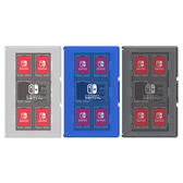 [哈GAME族]滿399免運費 可刷卡 日本 HORI 任天堂 Nintendo Switch 12+2遊戲收納盒 黑色 NSW-021