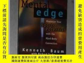 二手書博民逛書店英文原版罕見The Mental Edge by Kenneth