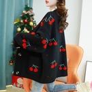 秋季外套女裝針織開衫2021新款寬鬆韓版毛衣中長款外穿慵懶風上衣 3C數位百貨