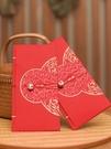 大紅包袋復古婚禮利是封