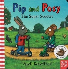 【友誼/品格教育/分享】PIP AND POSY THE SUPER SCOOTER / 英文繪本+QR code手機聽故事