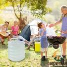 買1送1 戶外折疊水桶帶水龍頭車載飲水袋野營伸縮儲水桶【創世紀生活館】