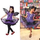 小紫蝙蝠女,萬聖節/兒童/服飾/舞會/變...