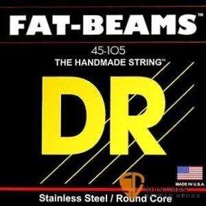 【缺貨】DR FB-45 手工貝斯弦(045-105)美製【DR貝斯弦專賣店/進口貝斯弦/FB45】