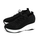 HUMAN PEACE 休閒運動鞋 綁帶 黑色 貼鑽 女鞋 029-1-01 no009