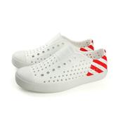 native JEFFERSON BLOCK 洞洞鞋 白色 男女鞋 11100102-8560 no411