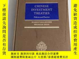 二手書博民逛書店CHINESE罕見INVESTMENT TREATIES:Policies and Practice [中國投資條