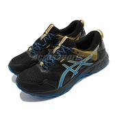 Asics 慢跑鞋 Gel-Sonoma 5 GTX 黑 黃 男鞋 戶外 運動鞋 防水 【ACS】 1011A660002